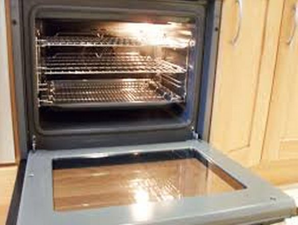 Cleaning your oven the easy way, With no ammonia