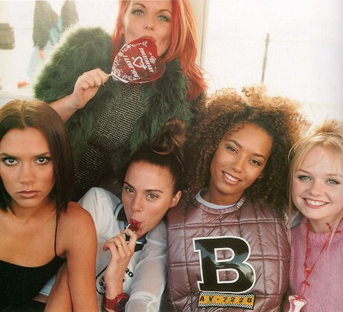 Spice Girls (via musings in femininity.)        These girls made me smile and dance with my daughters :)