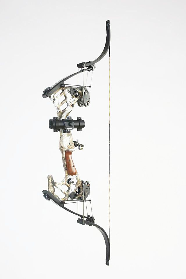 Oneida Kestrel compound bow. perfect as a finger shooting bow if configured with a let off at 65%.