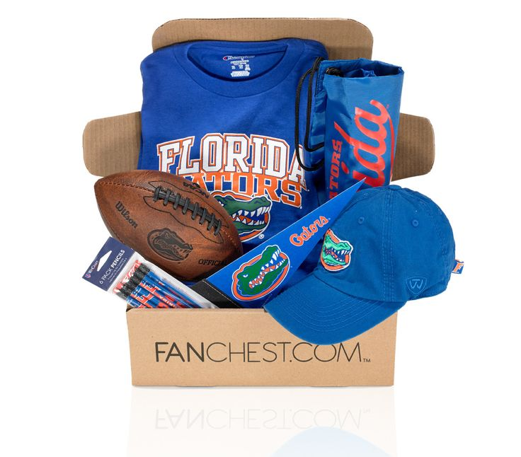 florida gators gift gifts boxes fanchest student iv