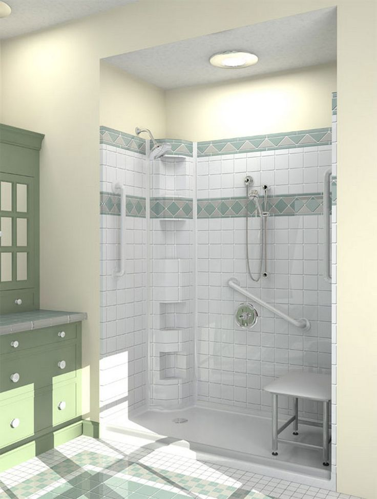 Best 25 wheelchair accessible shower ideas on pinterest - Handicap bathroom designs pictures ...