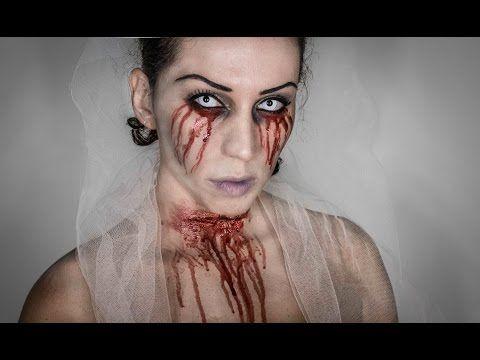 Make-up tutorial Halloween La sposa Cadavere Per Halloween ho pensato non alla solita sposa cadavere che tutti conosciamo ma ad una sposa tradita e uccisa! Alla Faccia dell'allegria!!!! ehehheheh!! comunque spero come sempre che vi spiaccia e che magari vi sia da ispirazione per la vostra maschera ;)  Truco velocissimo da realizzare!!! Iscrivetevi al CANALE e lasciate un bel LIKE sulla mia pagina Facebook! BACIOOOOOO!!!!