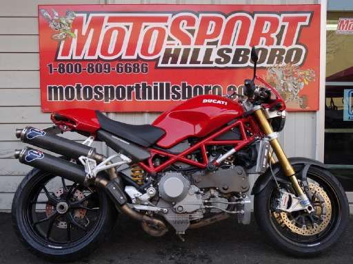 Check out this 2007 Ducati Monster S4Rs Testastretta listing in Hillsboro, OR 97124 on Cycletrader.com. It is a Standard Motorcycle and is for sale at $6499.