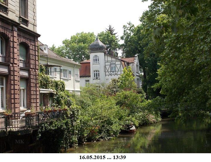 Einfach wunderschön … die Häuser am Kanal …. – Marianne Knip