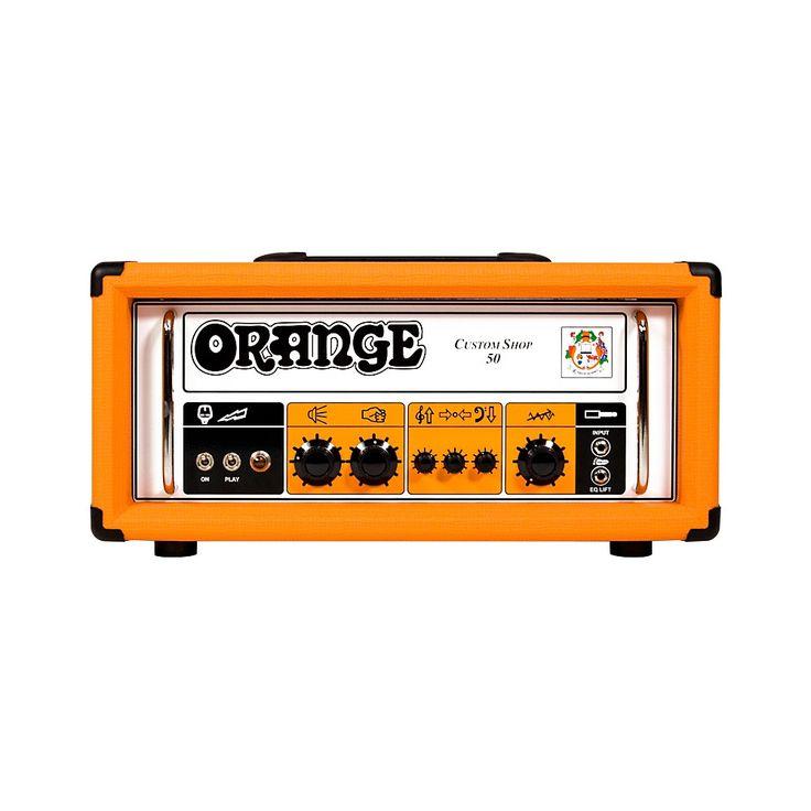 Orange Amplifiers CS50 Custom Shop 50W Tube Guitar Head Orange