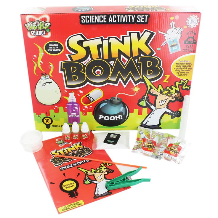 Weird Science - Stink Bomb Activity Set | Educational Toys and Educational Games at The Works