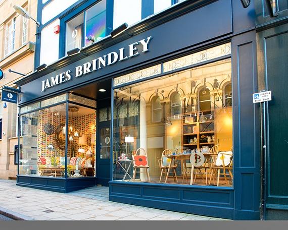 Our beautiful big windows on James Street in Harrogate