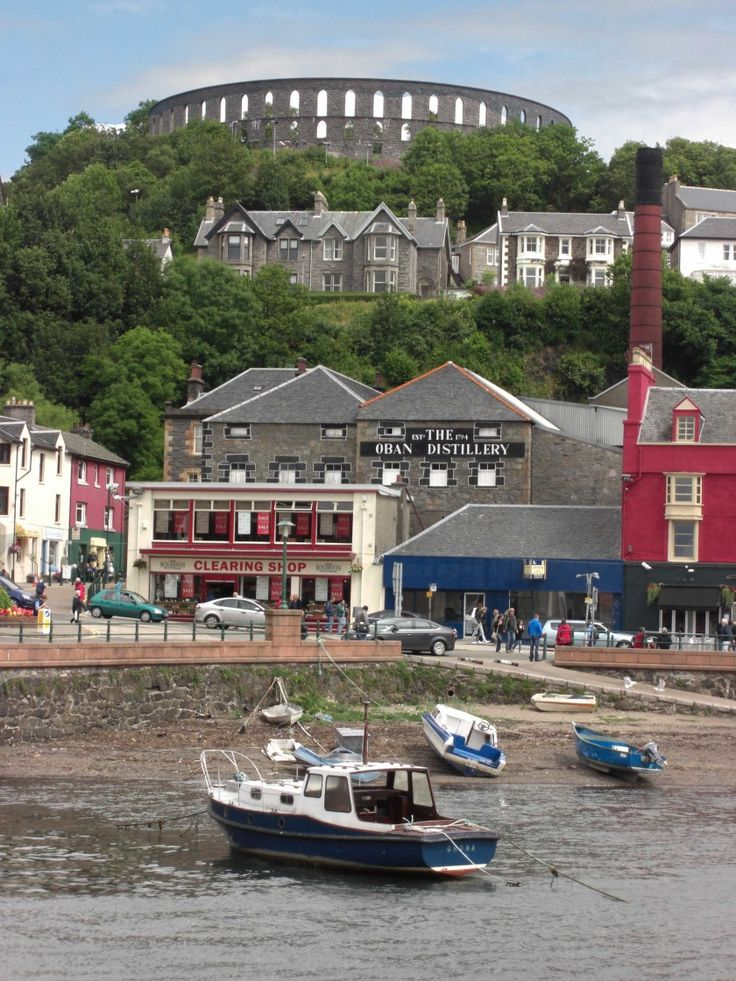 McCaig's Tower on the hillside overlooking Oban in Argyll. Our tips for 25 fun things to do in Scotland: http://www.europealacarte.co.uk/blog/2010/12/30/things-scotland/