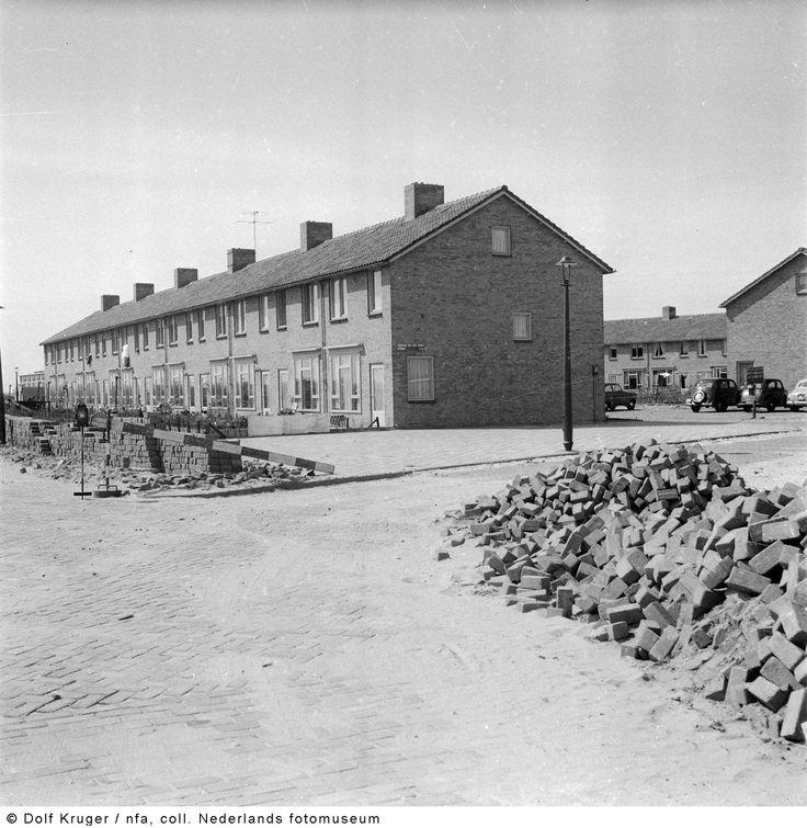 Nieuwbouw, Amsterdam-West (1950-1958) - fotograaf:  Dolf Kruger