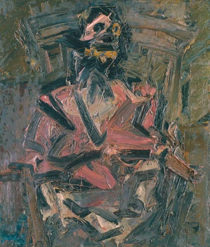 Frank Auerbach, J.Y.M. Seated No. 1, 1981