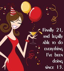 Ahahahahahaha!!! Happy 21st Birthday!!!