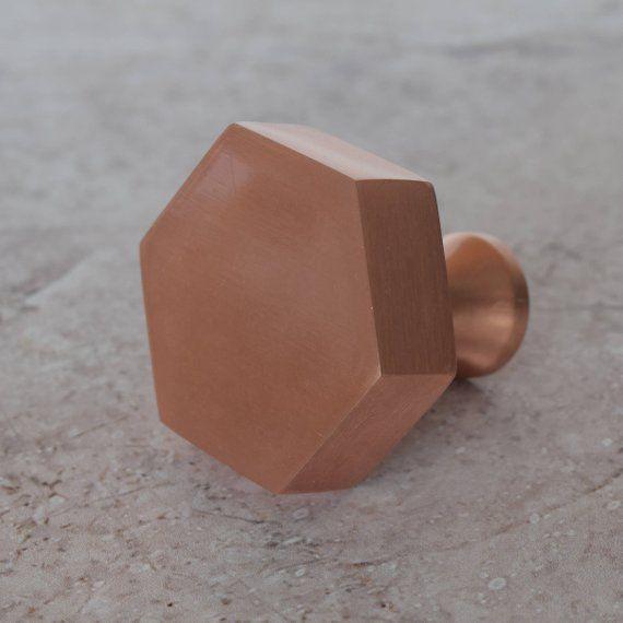 Copper Cupboard Knobs Coasters Door Stops Light Pulls Candle Holders Coat Hooks