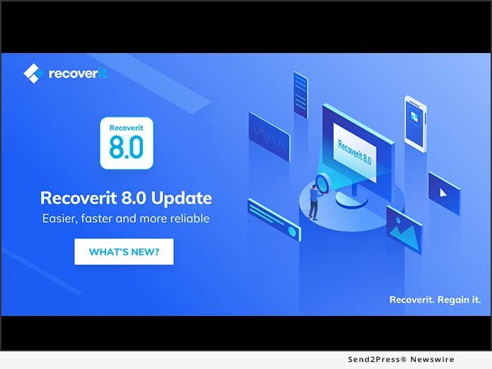 Recoverit 8 0 Officially Released After Tested Results And With A