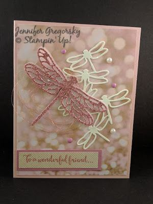 Falling in Love With New Products, Jenny G Paper Crafts, Dragonfly Dreams Bundle, Falling In Love DSP