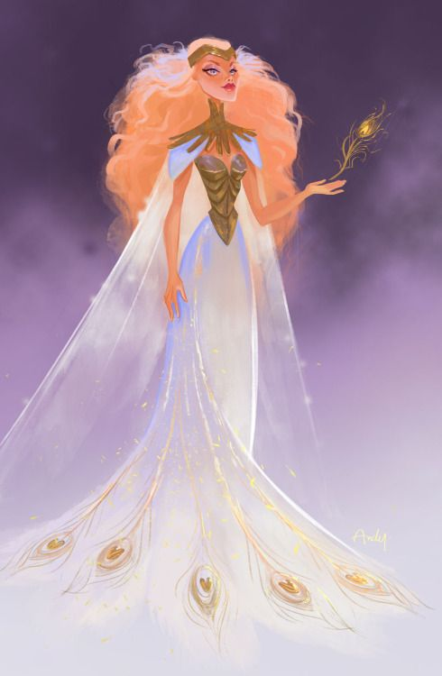 Character Design Challenge, Hera goddess of women and marriage.
