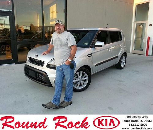 Thank you to Miles Bullard on your new 2013 Kia Soul from Kelly  Cameron and everyone at Round Rock Kia!