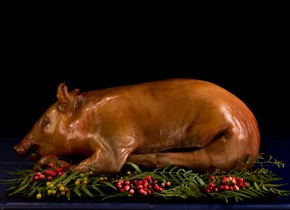 Whole Roasted Suckling Pig