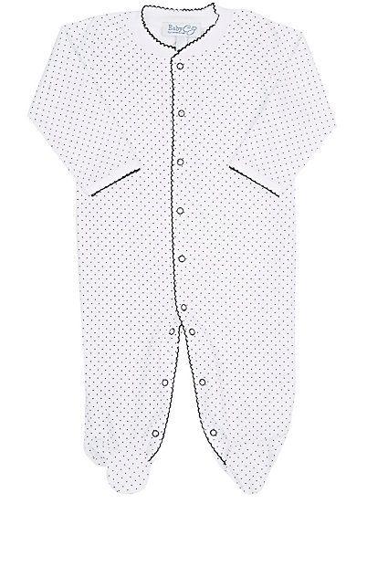 Baby CZ Dot-Print Pima Cotton Footie - One Piece - 504487997