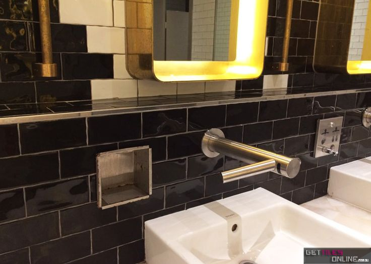 Hume Subway Black Gloss 75x150 (Code:00657) - Get Tiles Online