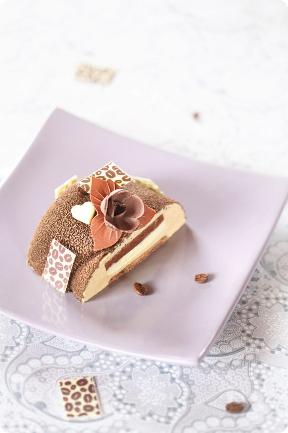 """Verdade de sabor: Торт """"Кофе и шоколад"""" / Torta mousse """"Café e chocolate"""""""