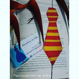 Marcadores da Kika: Gravata do Harry Potter