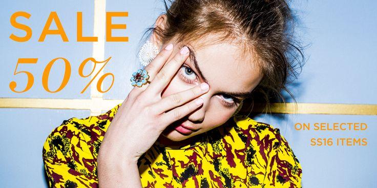 SALE SS16 / Photo: Trine Hisdal / Art Direction: Julie Ringsø Svendal