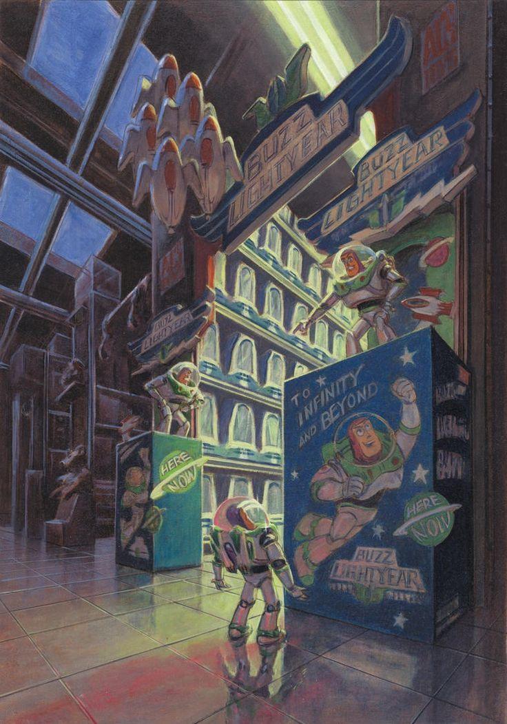 Disney Concept Art - Toy Story