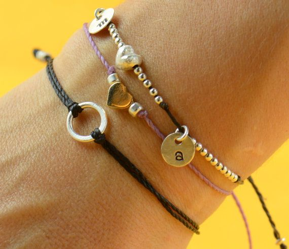 Sterling Silver Karma bracelet
