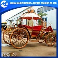 Source Cinderella horse cart pumpkin horse carriage from horse carriage manufacturer on m.alibaba.com