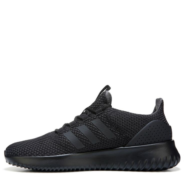 Adidas Men\u0027s Neo Cloudfoam Ultimate Sneakers (Black/Black)