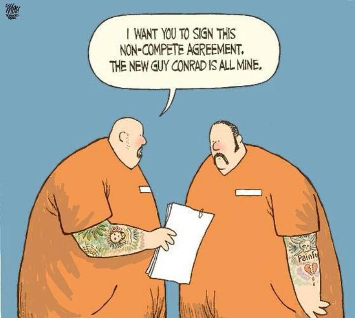 Prison humor