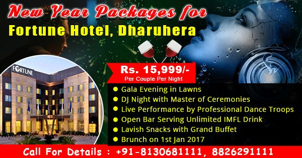 Fortune Hotel Dharuhera Near #delhi #New year packages 2017  Book Now Call-08130781111