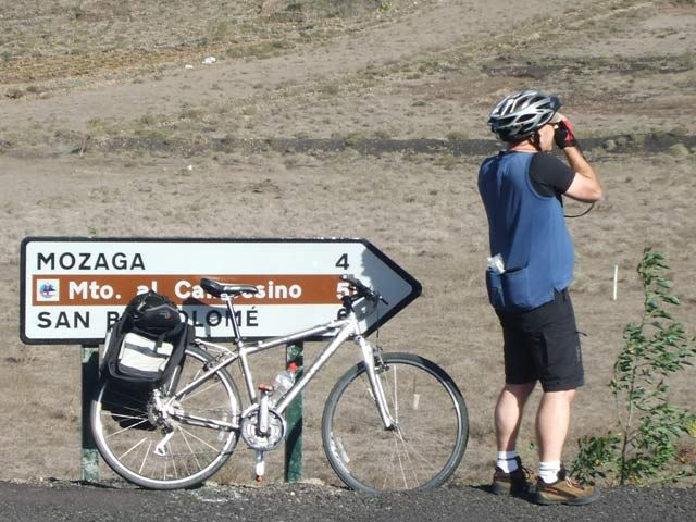 On the road, Lanzarote Cycling