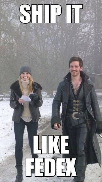 Oh yes. #CaptainSwan