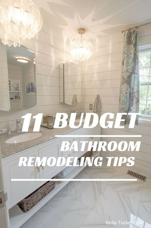 Gallery One Budget Bathroom Remodel