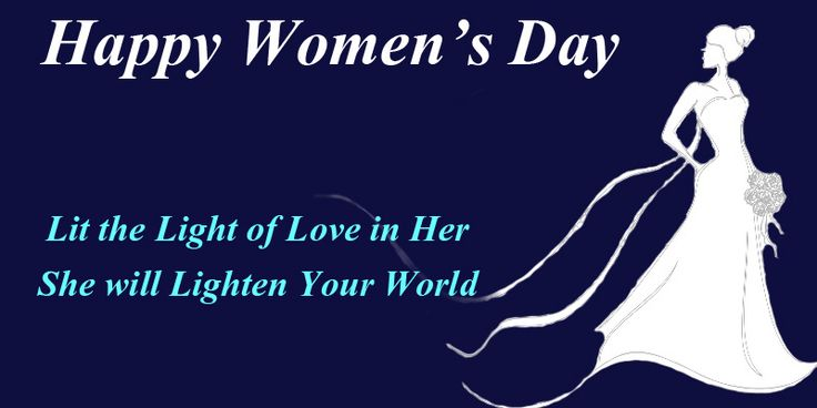#WomenSpecial Happy Women's Day. Respect your woman and respect the world.