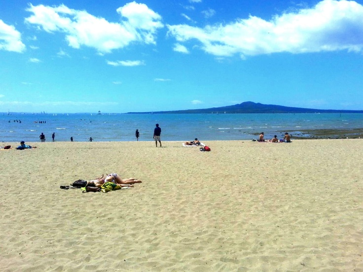 Mission bay  Auckland city  New Zealand