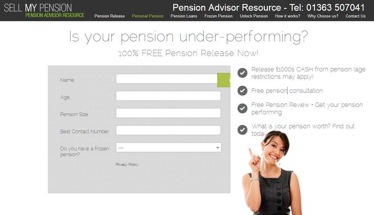 Website about Personal Pension.