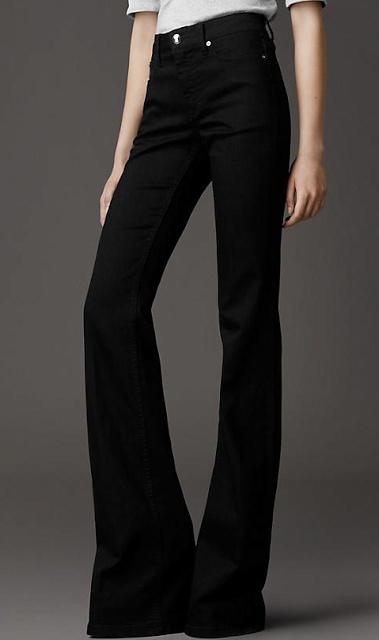 high waist flared pants  Be Sable