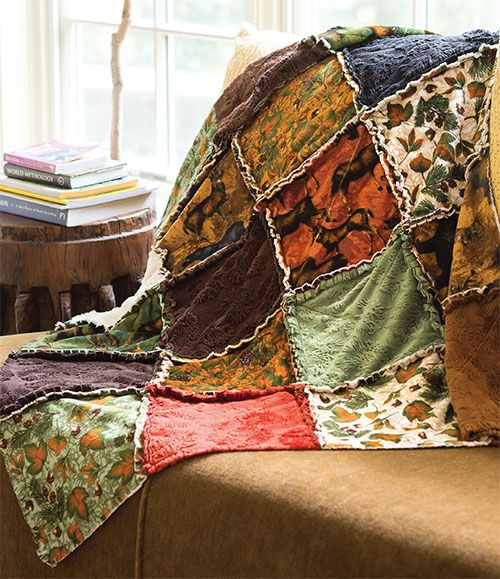 95 best Rag quits,how to's images on Pinterest | Flannel rag ... : rag quilting made easy - Adamdwight.com