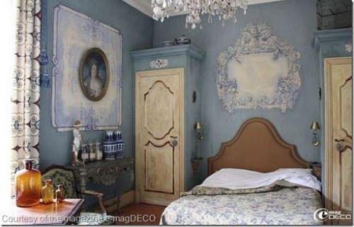 Оригинальная роспись стен в стиле винтаж / Дизайн интерьера / Архимир