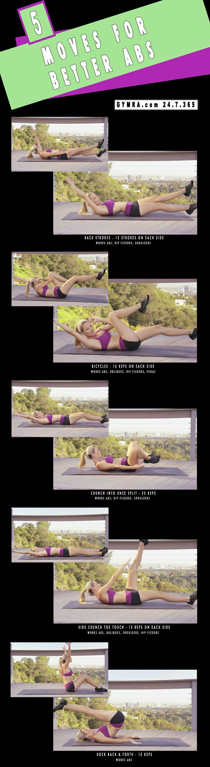 Abs Workout. #fitness #workout #health #exercise