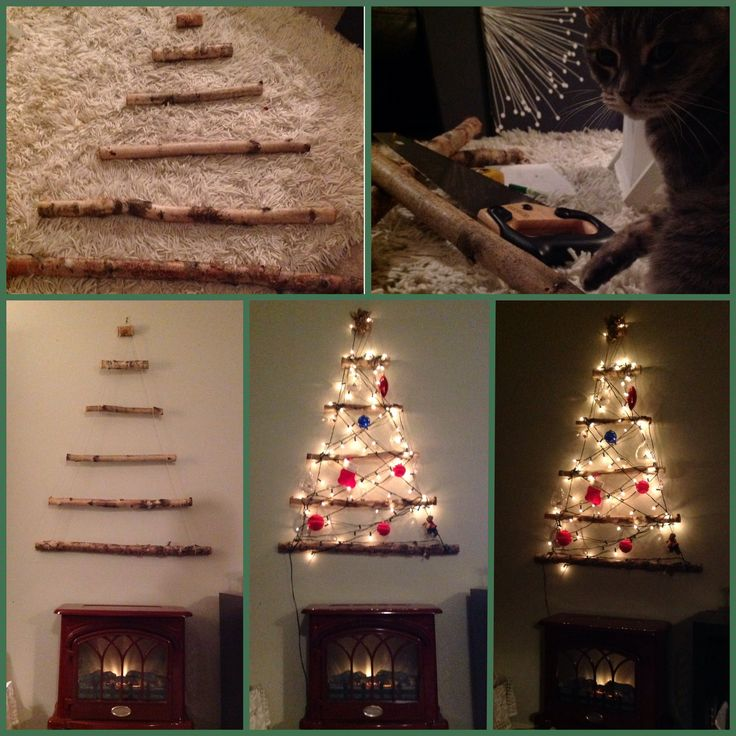 17 best images about holidaze on pinterest mantels Big christmas tree small space