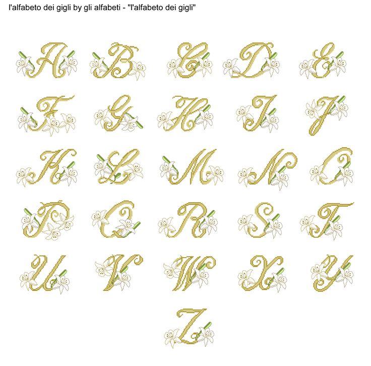 485 best elly alfabeti images on Pinterest   Cross stitch alphabet ...