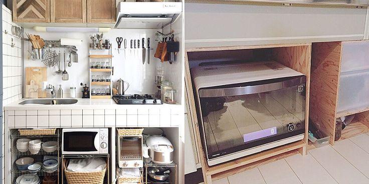 扉はいらない オープン化で激変しつつあるキッチン収納 スペース活用術 キッチン シンク下