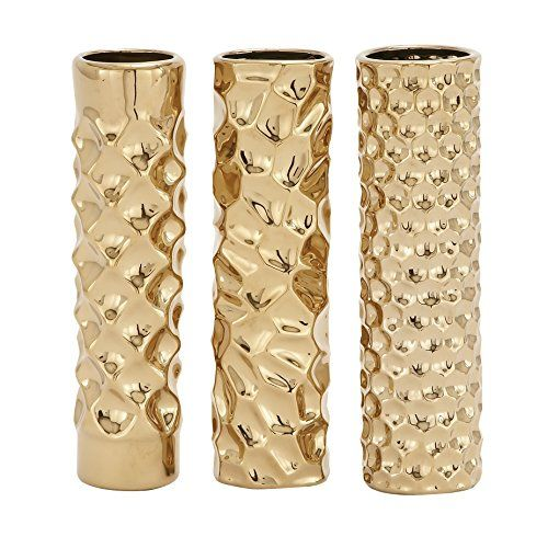 "Deco 79 92589 Ceramic Vase, 3 Assorted, 3 by 12"" Deco 79 http://www.amazon.com/dp/B00W3VQAXA/ref=cm_sw_r_pi_dp_qYTjxb0TSS2MG"