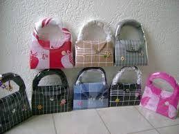 Afbeeldingsresultaat voor handtassen maken van keukenhanddoeken