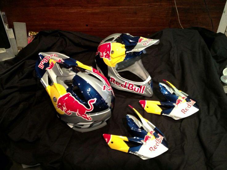 Johnny Walker Redbull Airoh Helmets Airoh Helmets