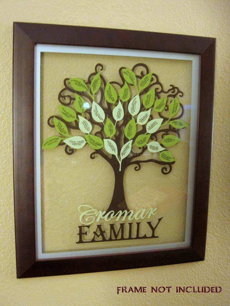 Ancestry Family Tree Kit (Names written for you). $14.00, via Etsy.