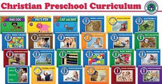 Blue Manor PreK Christian Preschool Curriculum